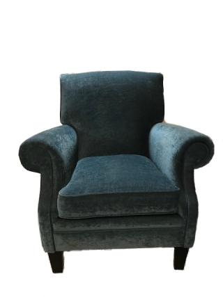 Fauteuil in luxe stof